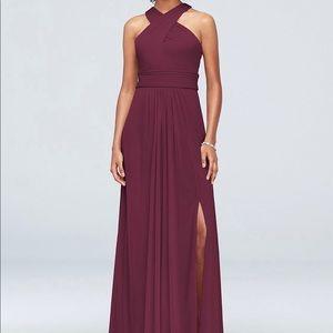 Bridesmaid Dress (Wine Colored)